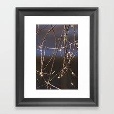 Dew Framed Art Print