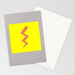 Pink Lightning Stationery Cards