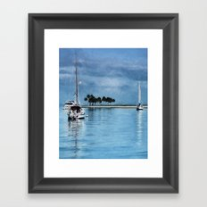 Lost In Tranquility Framed Art Print