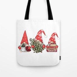 Christmas Gnome Tote Bag