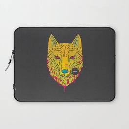 The Unbridled Anger of a Decapitated Direwolf Laptop Sleeve