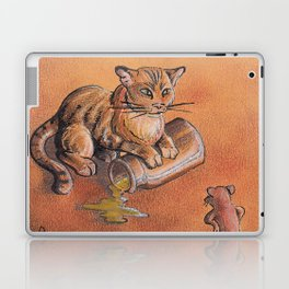 GrimmSeries2 - Cat and mouse Laptop & iPad Skin