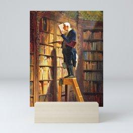 12,000pixel-500dpi - The Bookworm - Carl Spitzweg Mini Art Print