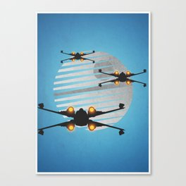 Space figther xwing Canvas Print