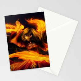 Fire Dancer Stationery Cards