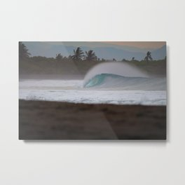 Clean and Empty Metal Print