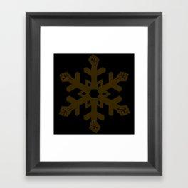 Fists of Flurry- light Framed Art Print