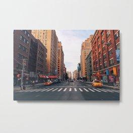 New York City - Summer in Chelsea Metal Print