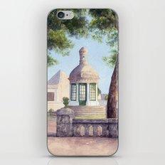 Tiny old mediterranean chapel iPhone & iPod Skin