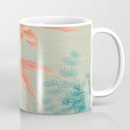 Ohara Koson Gold Fish Japanese Woodblock Print Vintage Historical Japanese Art Coffee Mug