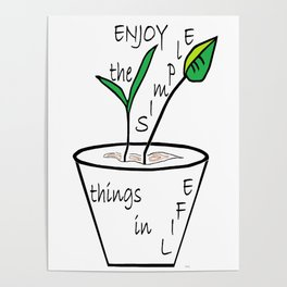 The Simple Things Poster