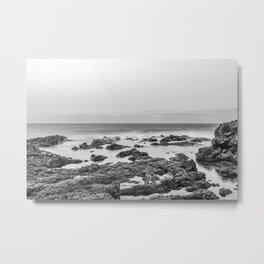 Monochrome Landscape Metal Print