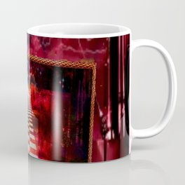 """""""The Choice:Red or Blue"""" by surrealpete Coffee Mug"""