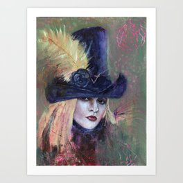 Stevie Nicks My Heart Art Print