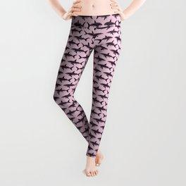 Pattern: Rose-Colored Sharkies ~ (Copyright 2015) Leggings