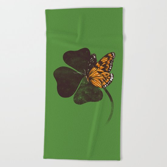By Chance - Green Beach Towel