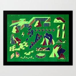 Beat Park Art Print