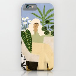 Wine and Plants iPhone Case