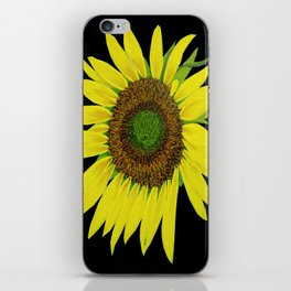 Sunflower painted  iPhone Skin