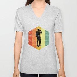 Retro Economist Shirt Unisex V-Neck