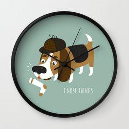 I Nose Things Wall Clock