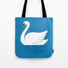 Just The One Swan Actually Tote Bag
