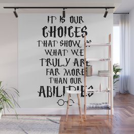 Dumbledore's quote Wall Mural