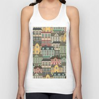 urban Tank Tops featuring Urban by Julia Badeeva