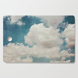 January Clouds Cutting Board