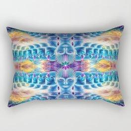 Parallel visions Rectangular Pillow