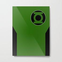 Minimalist Green Lantern - Kyle Rayner Metal Print