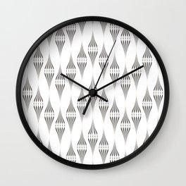 Art Deco  № 45 .Openwork zigzag Wall Clock