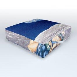 creature of the moon Outdoor Floor Cushion