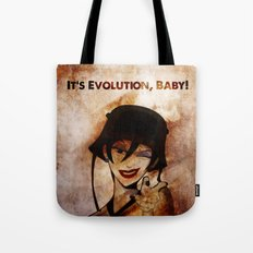Do the Evolution, Baby! Tote Bag