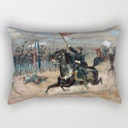 Sheridan's Ride -- Civil War Rectangular Pillow