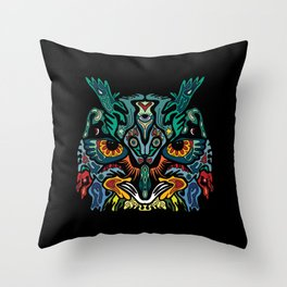 Owlsley Stanley Throw Pillow