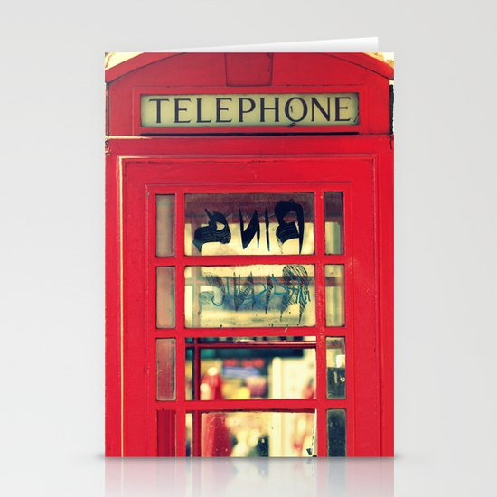 Telephone Stationery Cards