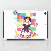 shinee iPad Cases featuring Downtown Baby SHINee by sophillustration