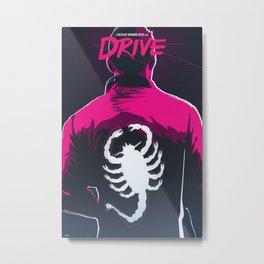 Drive (Night Version) Metal Print