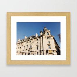 Paris Wanderings Framed Art Print
