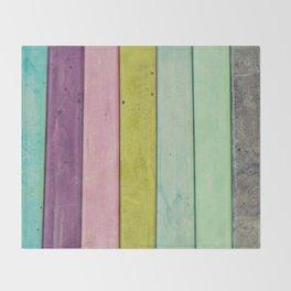 Jewel Tones Throw Blanket