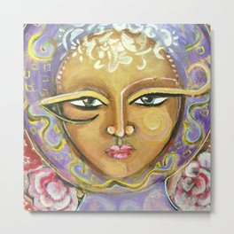 Magical Muse Metal Print