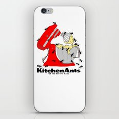 Kitchen Ants iPhone Skin
