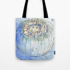 The Planet City Tote Bag