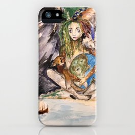 Mye's Earth iPhone Case