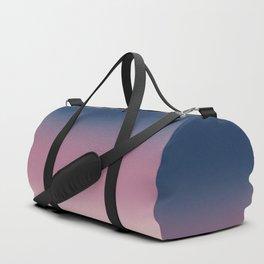 Blue , purple , pink , Ombre Duffle Bag