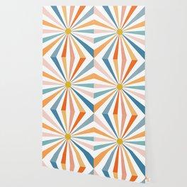 Sun Retro Art V Wallpaper