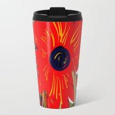 Beautiful flower art pattern decorative Travel Mug