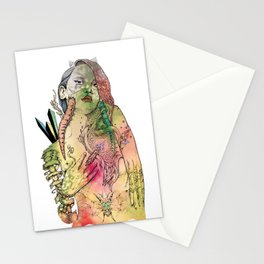 Beetle Queen Stationery Cards