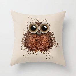 Owl-Wowl Throw Pillow